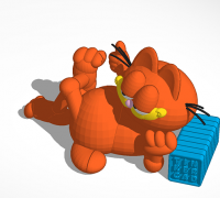 T Pose Garfield 3d Models To Print Yeggi Page 9