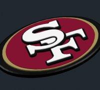 49ers Logo 3d Models To Print Yeggi