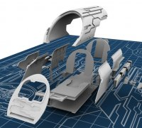 Stargate Puddle Jumper Resin SG1 Prop Model 3D Printed SGU SGA