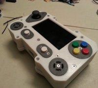 portable raspberry pi emulator case