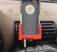 Iphone Car Mount D Models To Print Yeggi - Audi iphone 6 car mount