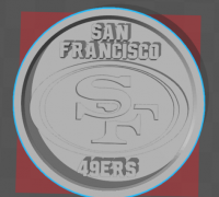 49ers 3d models to print yeggi download for sale website pinshape voltagebd Choice Image