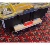 1x BATTERY HOLDER for STANLEY FatMax 18V storage mount clips case cover battery