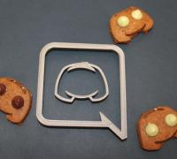 Stl file CC cookie cutter for printing on 3D printer