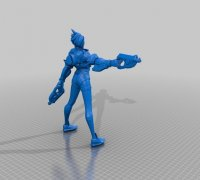 Tracer Overwatch 3d Models To Print Yeggi