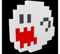 Pixel Art 3d Models To Print Yeggi