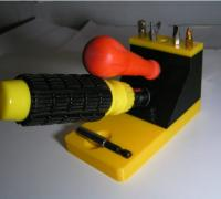 3-H Werkzeughalter,Schraubendreher Halterung,Schraubendreher Halter,Schraubendreher,Schraubendreher-Organizer und Schraubenschl/üssel-Organizer 2 black2 red2green2blue2orange