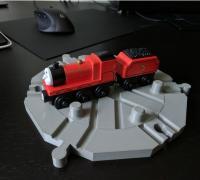 train turntable