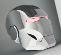 solidworks iron man helmet cad surfacing