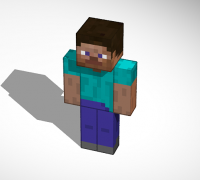 3d Minecraft Steve 3d Models To Print Yeggi Page 7