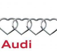 Audi Logo D Models To Print Yeggi - Audi logo