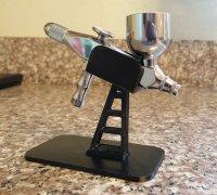 airbrush stand 3d models to print yeggi