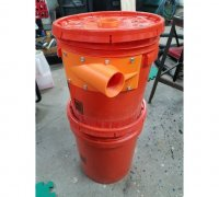 cyclone dust collector 3d models to print yeggi