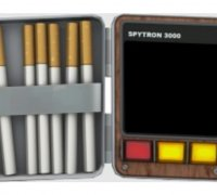 Team Fortress 2 Spy Cigarette Case 3d Models To Print Yeggi