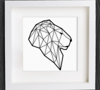 How to make an easy Origami Lion - YouTube | 180x200