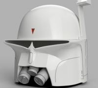 Kylo Ren Casco 3D dise/ño de Metal