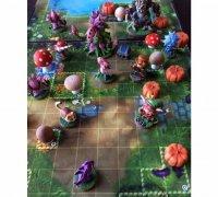image regarding 2d Printable Terrain referred to as mushrooms\