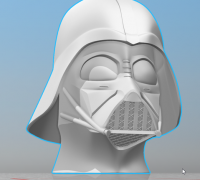 Casque De Dark Vador 3d Models To Print Yeggi