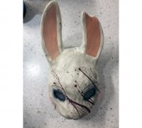 The Huntress Dead by daylight Anna mask  Do It Yourself DIY printable mask Head Pdf download Killer of CHAPTER V A Lullaby For The Dark