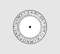 image about Printable Cipher Wheel referred to as cipher wheel\