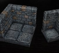 picture regarding 3d Printable Dungeon Tiles known as dungeon tiles\