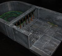 graphic about 3d Printable Dungeon Tiles named dnd tiles\