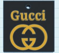 Gucci Logo Cutter 3d Models To Print Yeggi