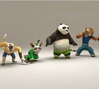 Kung Fu Panda 3d Models To Print Yeggi