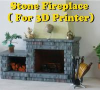 Fantastic Dollhouse Fireplace 3D Models To Print Yeggi Home Interior And Landscaping Mentranervesignezvosmurscom