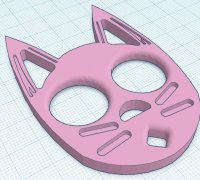 Kitty Self Defense Keychain 3d Models To Print Yeggi