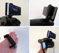mounting bracket 3D printed custom design holder. Nikon P900 camera