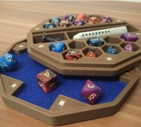 dnd dice box magnetic