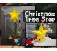 Christmas Tree Topper 3d Models To Print Yeggi