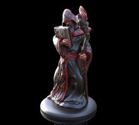 graphic about Free 3d Printable Miniatures identify wizard miniature\