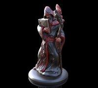 graphic regarding Free 3d Printable D&d Miniatures titled wizard miniature\