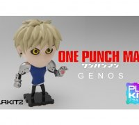 one punch man genos