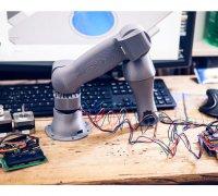 robot arm stepper motor