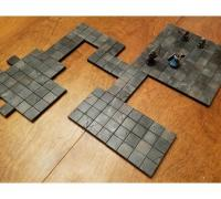 photo about Free Printable Dungeon Tiles identified as dungeon tiles\