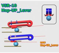 airsoft vsr hop up lever rhop