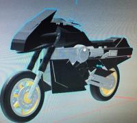 miniature motorcycle