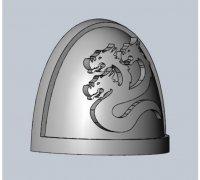 warhammer 40k shoulder pad