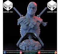 Deadpool Bust 3d Models To Print Yeggi
