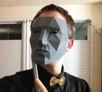 low polygon mask