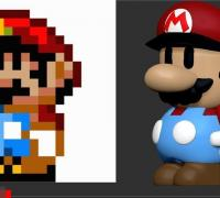 Super Mario 3d World 3d Models To Print Yeggi