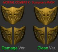 Mortal Kombat Scorpion Mask 3d Models To Print Yeggi