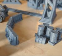 photo about Free 3d Printable Terrain named wargaming terrain\