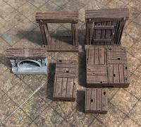 photograph about Dungeons and Dragons Tiles Printable named tavern\