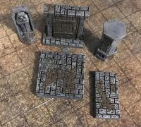 photo relating to 3d Printable Dungeon Tiles identify dungeon tile\
