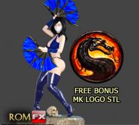 Mortal Kombat Kitana 3d Models To Print Yeggi