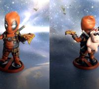 Deadpool 3d Models To Print Yeggi